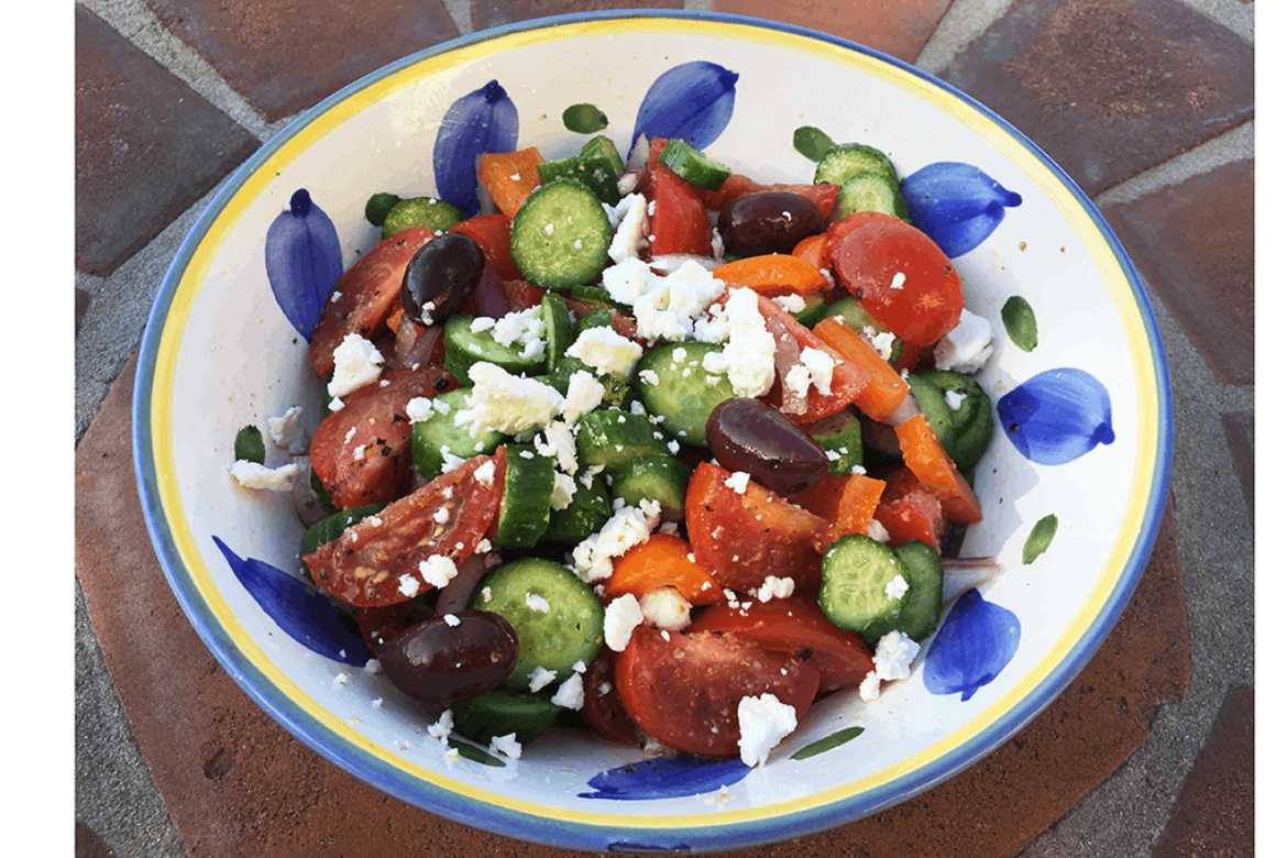 Miss Val's Greek Salad