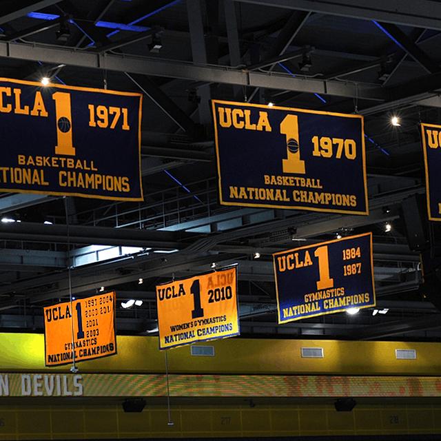 UCLA Championship Banners