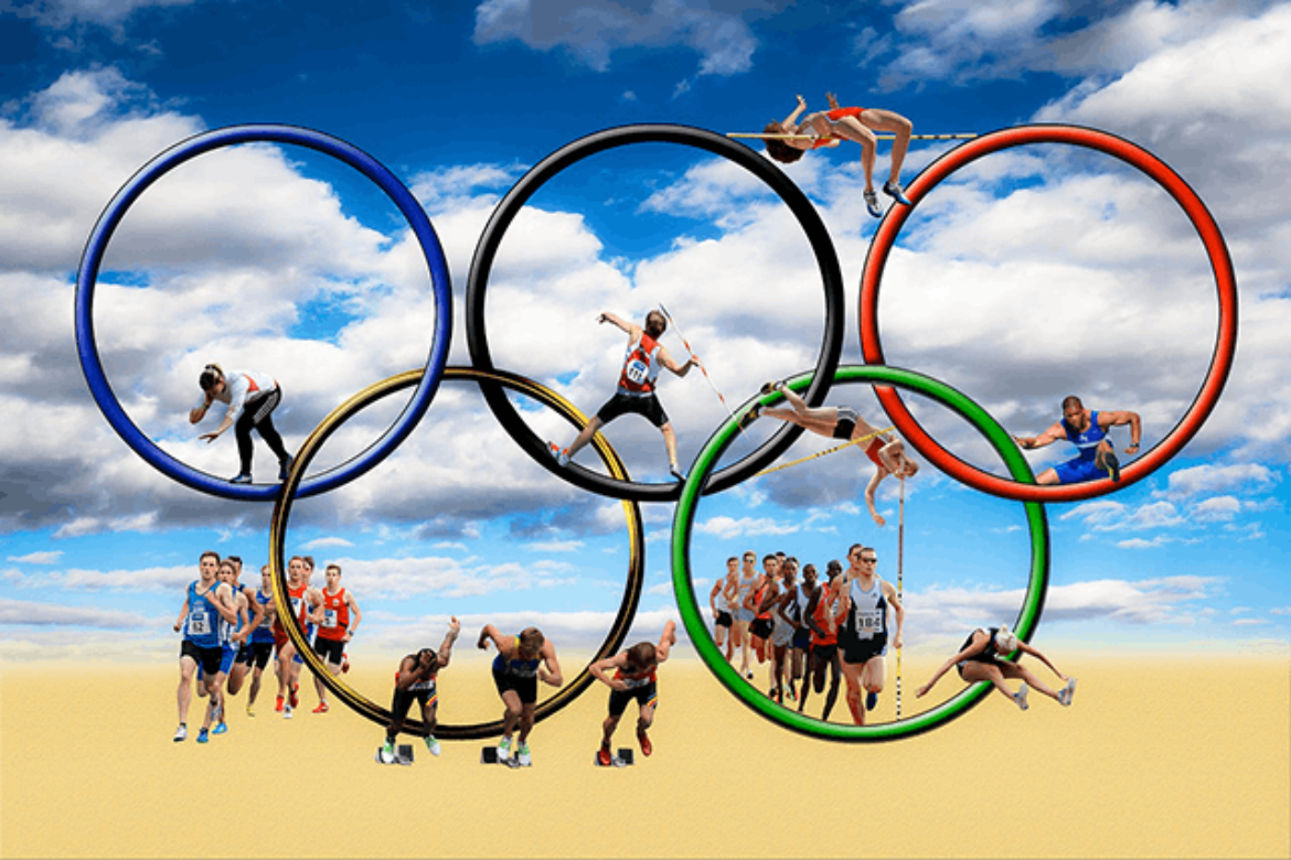 The Olympic Spirit: Working to Be the Best in the World