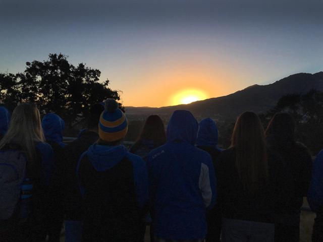 Bruin Sunset - Gratitude