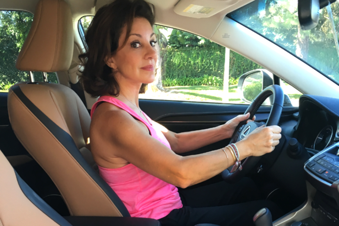 Car Pilates Exercise Hack