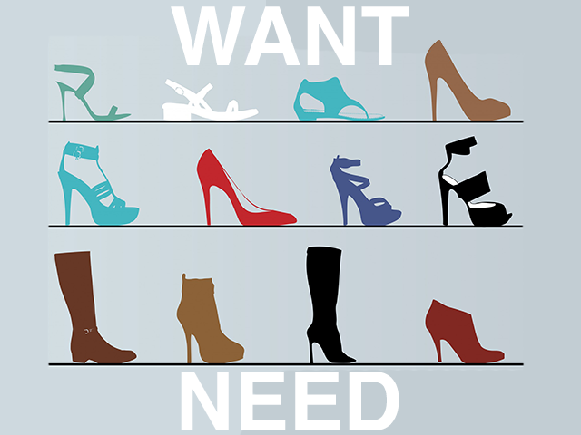Need It? or Want It?