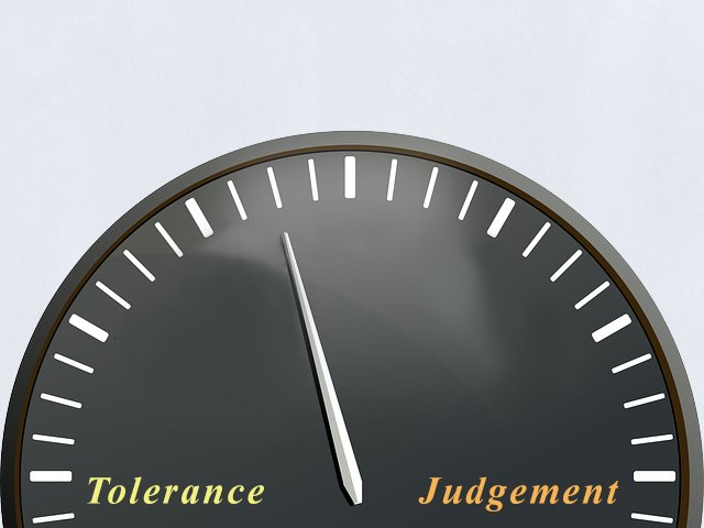Judgement Tolerance