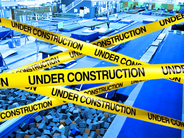 Gymnastics Under Construction